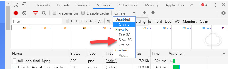 Selecting 3g for native lazy load in wordpress