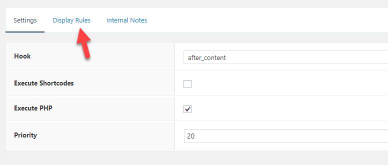 authorbox in generatepress hook display tab
